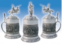 Knights Splendour Pewter Stein