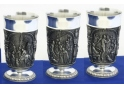 Middle Ages Pewter Goblet