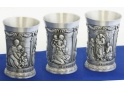 Da Vinci, Michelangelo and Raffael Pewter Goblet