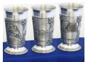 Russia Pewter Goblet