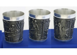 Craftspeople Pewter Goblet