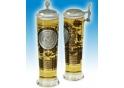 U.S. Navy Column Glas mit Zinndeckel