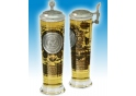 U.S. Navy Column Glass with pewter lid