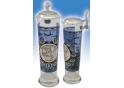 U.S. Air Force Column Glas mit Zinndeckel