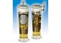 U.S. Army Column Glas mit Zinndeckel