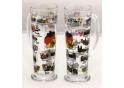 Deutschlands Sehenswürdigkeiten Glas mit Henkel