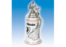 East prusia country stein