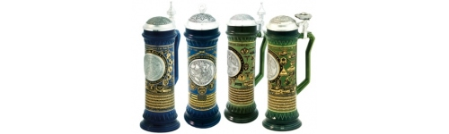 Garrison & Golf Steins