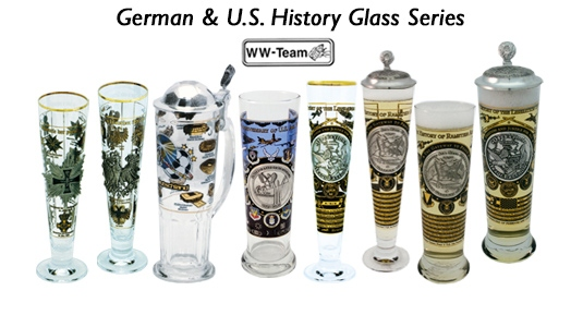 German & U.S. History Glass Series
